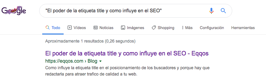title google para seo
