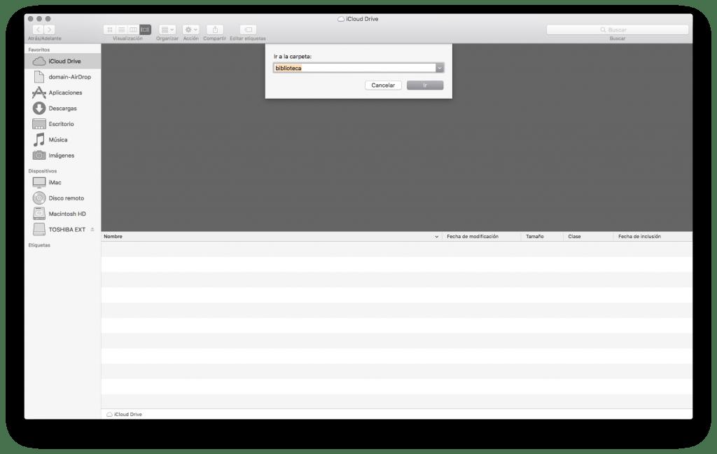 desinstalar aplicacion en mac