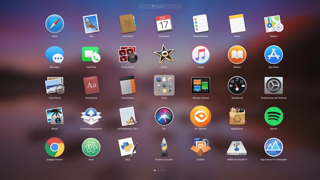 desinstalar aplicacion mac