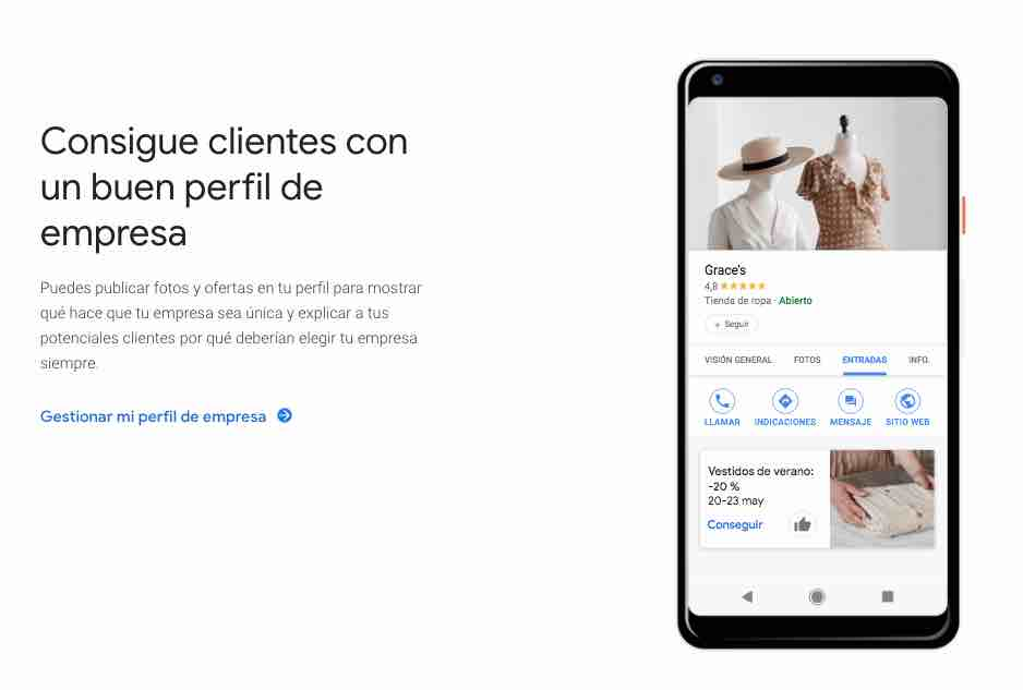 consigue clientes con google my business