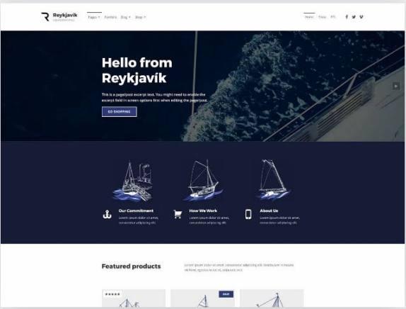 plantilla responsive wordpress gratis