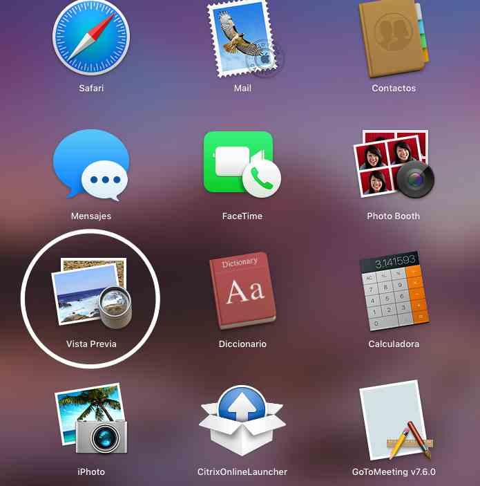 app vista previa