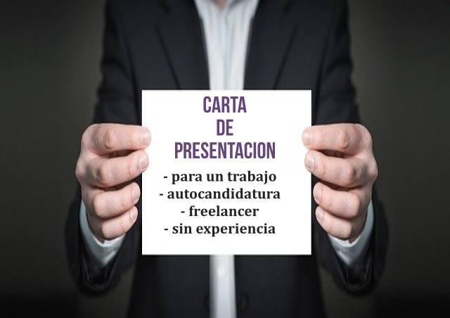 Carta de presentación autónomo – Ejemplo carta de presentación para un trabajo