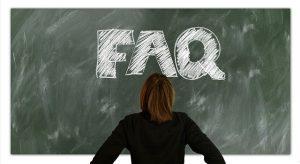 preguntas frecuentes página web